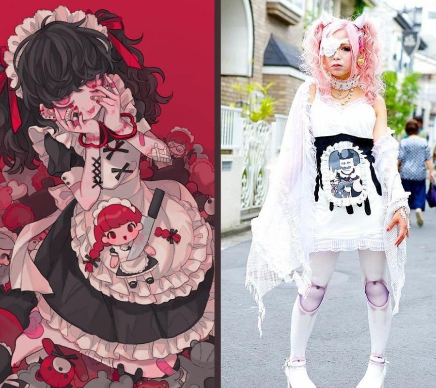 Japanese Gurokawa Fashion
