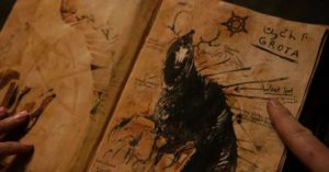 Titular book of monsters