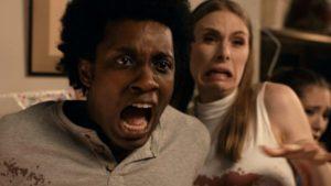 Reaction shots of actors