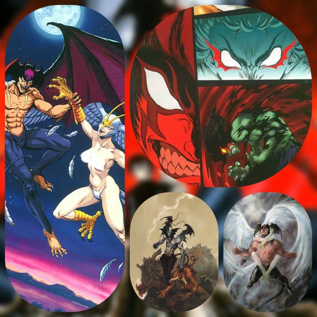 Devil Man Collage