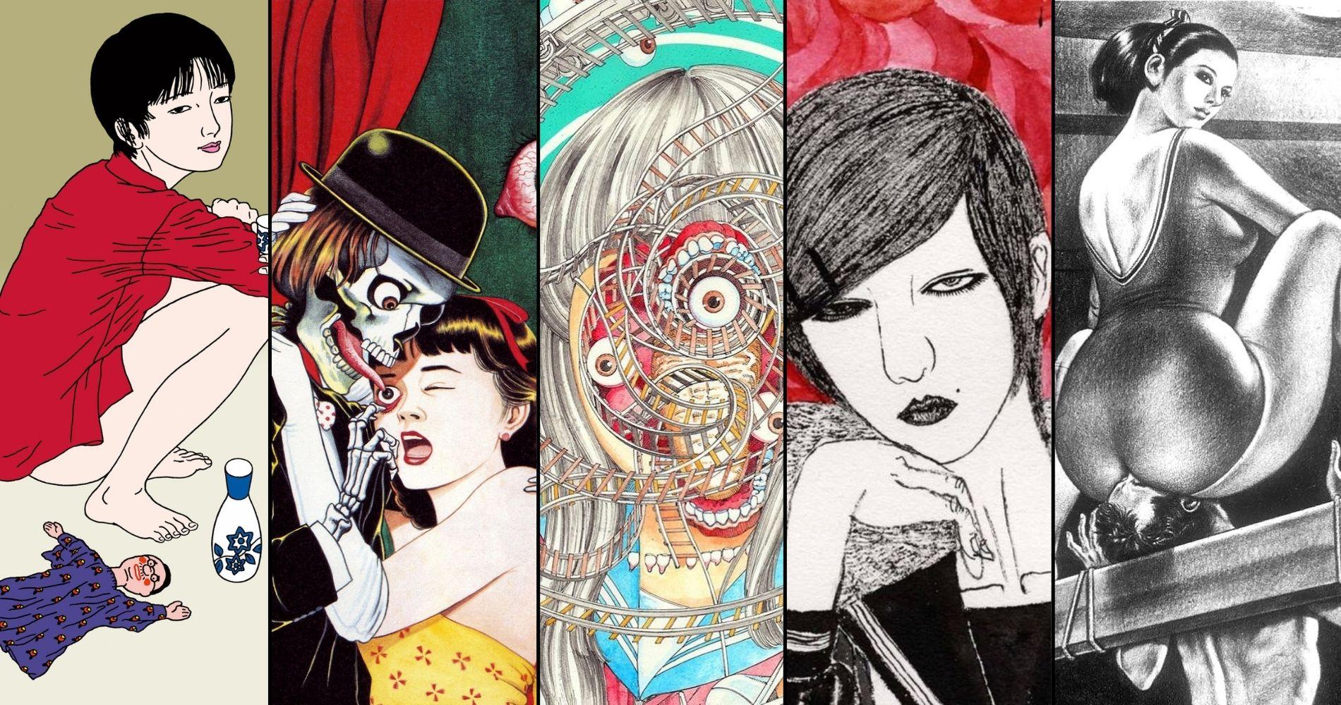 Japanese Erotic Grotesque Art: 5 Definitive Figures