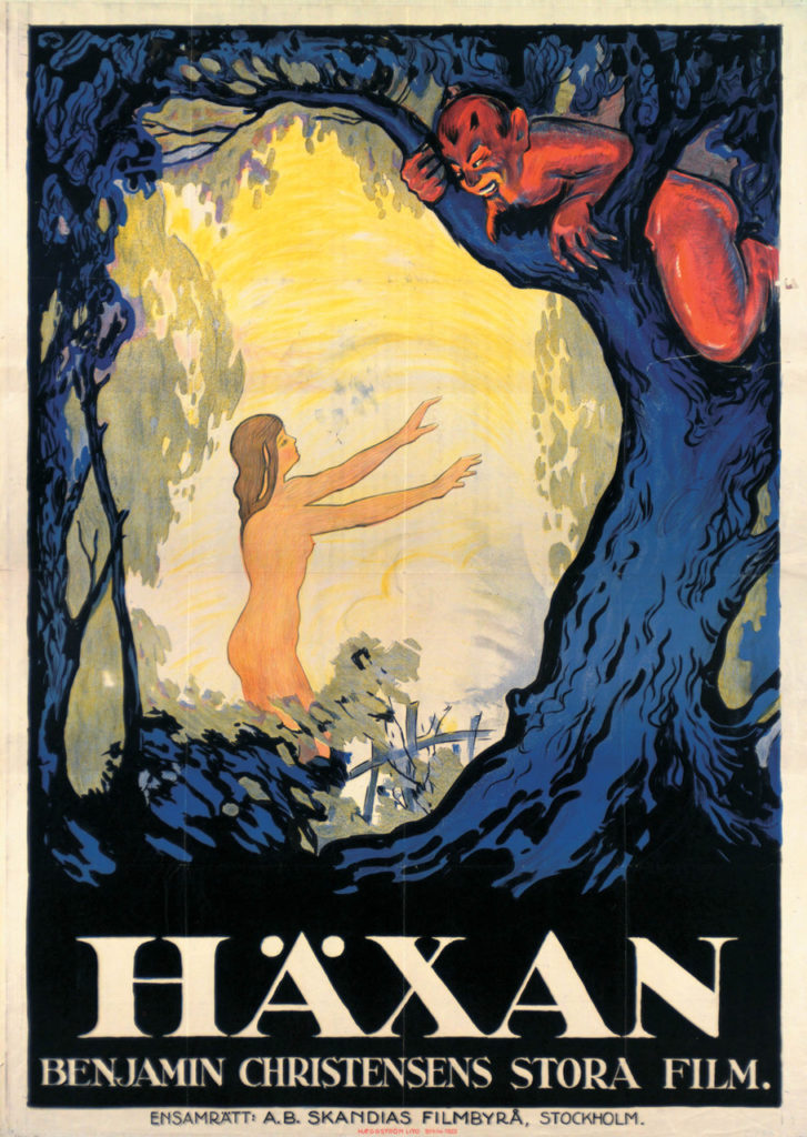 Haxan Witchcraft poster