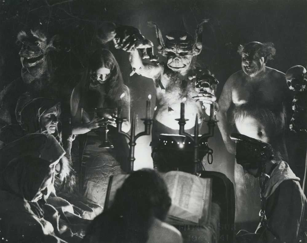 Still from Haxan Witchcraft throughout the ages