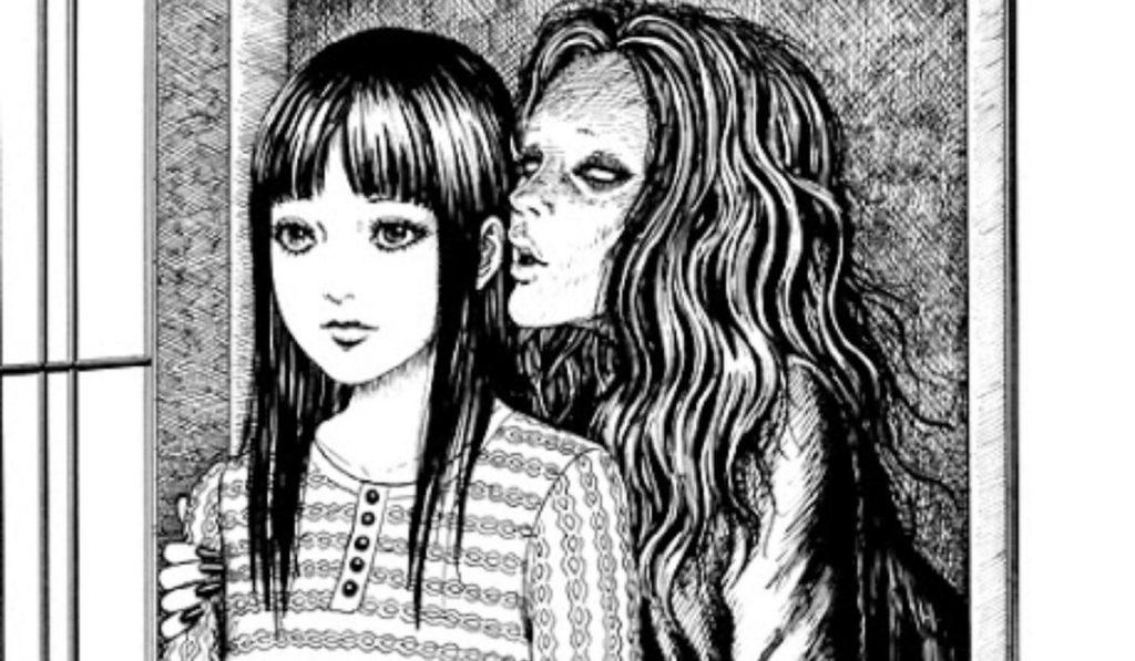 Whispering Woman Junji Ito