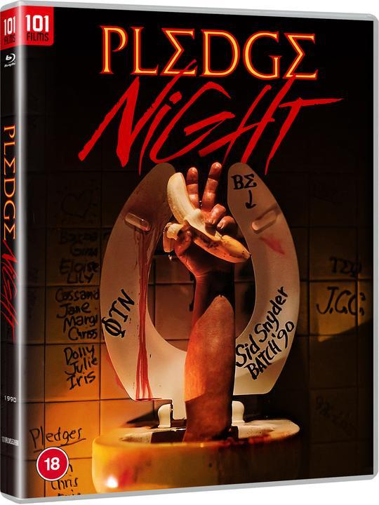 Pledge night blu-ray