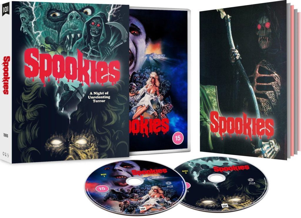 Spookies Black Label Special Edition Blu-ray