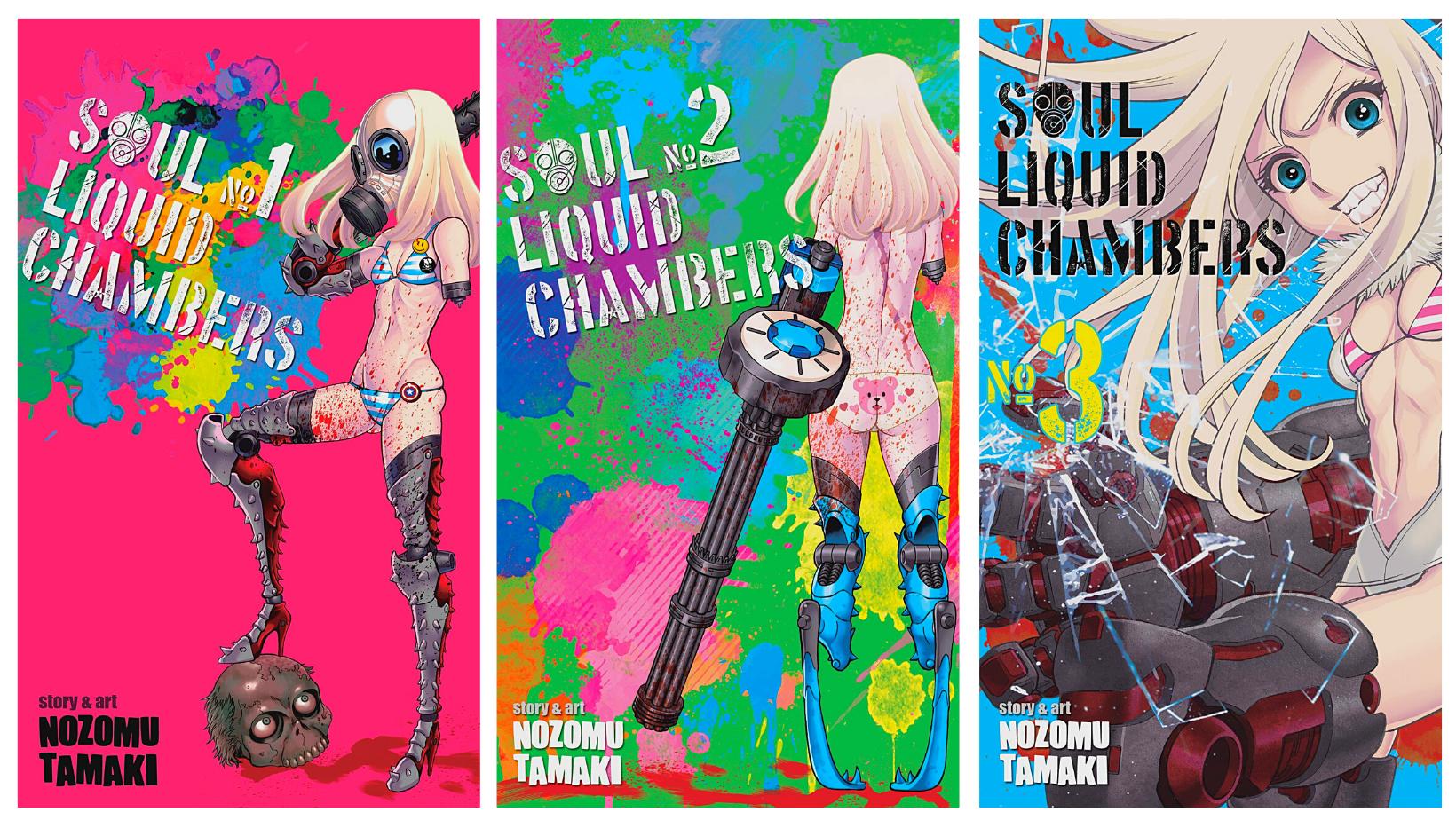 Soul Liquid Chambers Vol 1-3