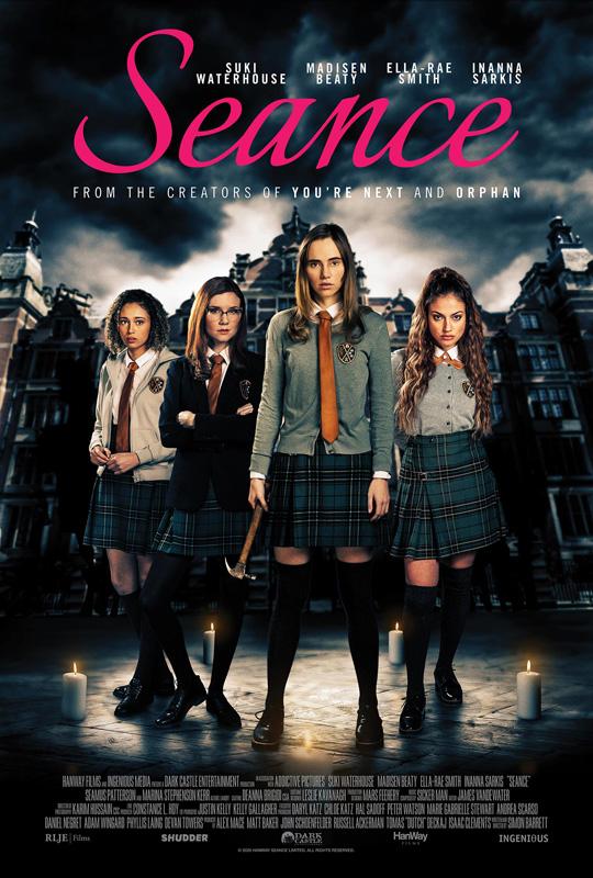 Seance Film Poster 2021 horror