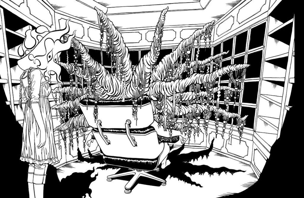 Soil Manga Interior Art