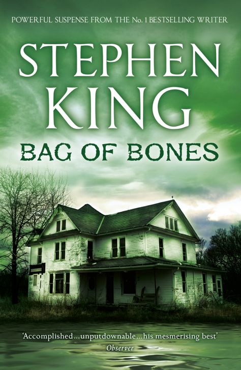 Bag of Bones Book Cover Stephen King