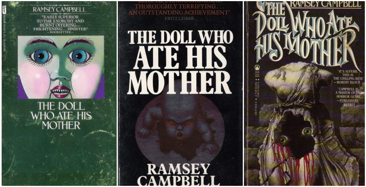 The Doll Who Ate His Mother Novel Ramsey Campbell