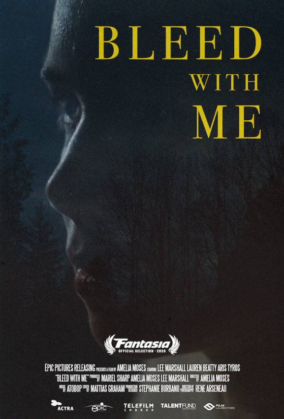 Bleed with me Poster