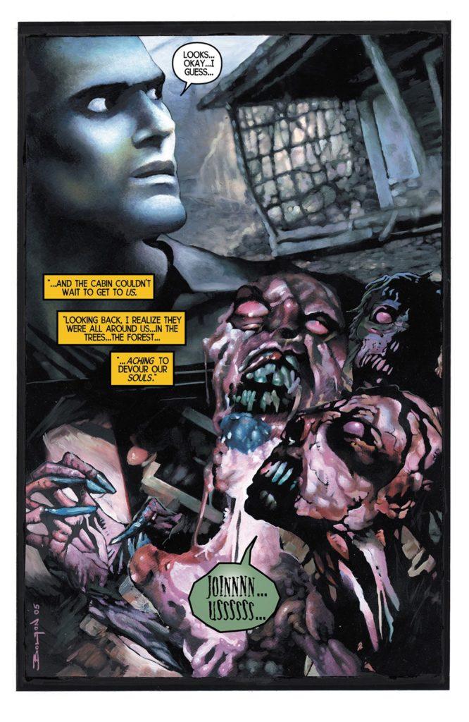 Evil Dead Comic Book Dark Horse Graphic Novel