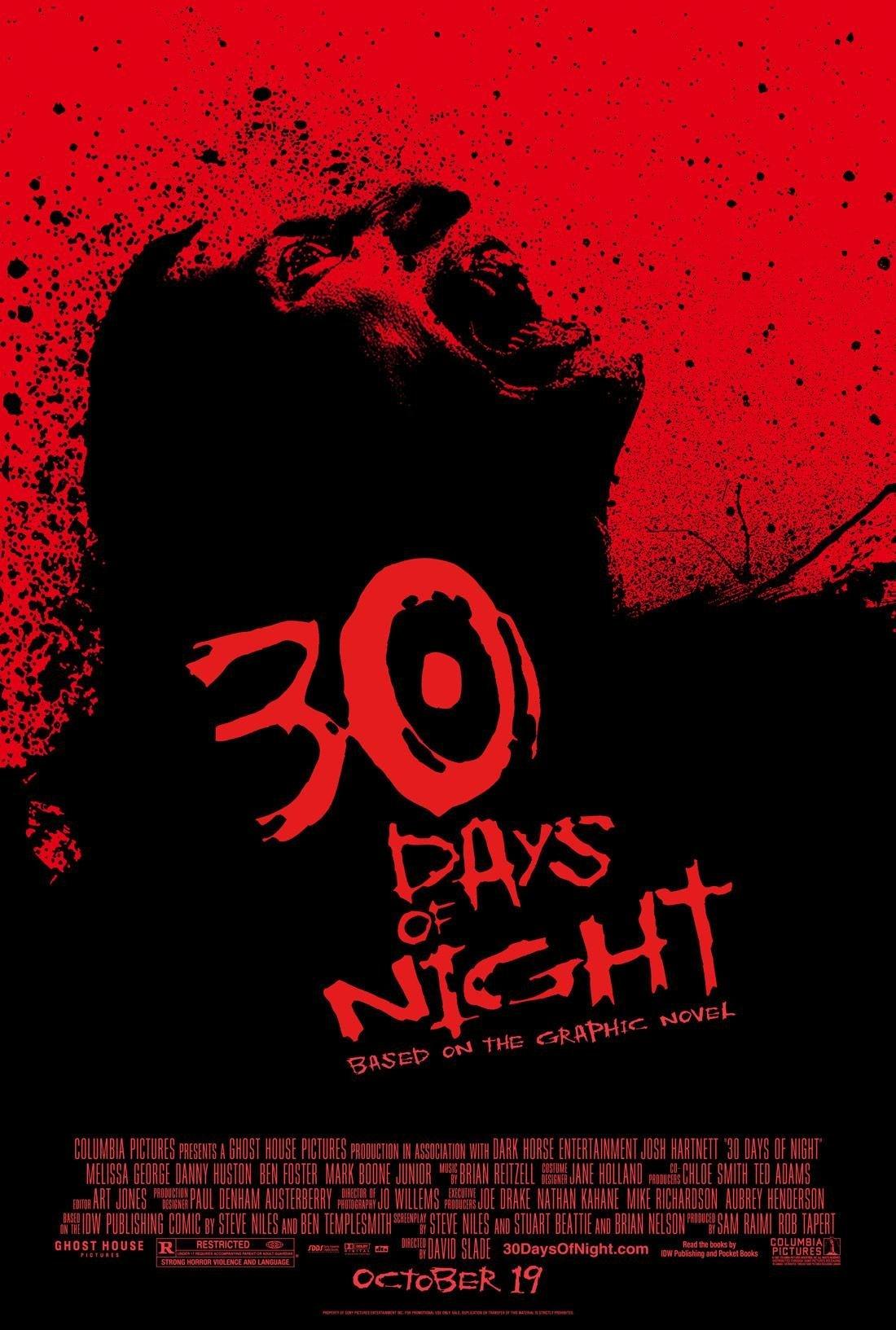 30 Days of Night Film Poster