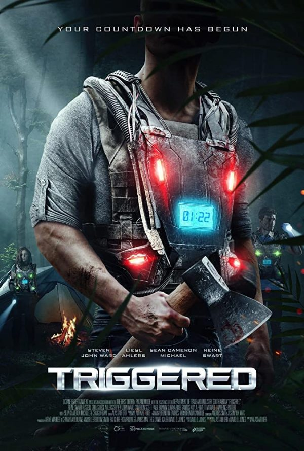 Triggered Death Game poster